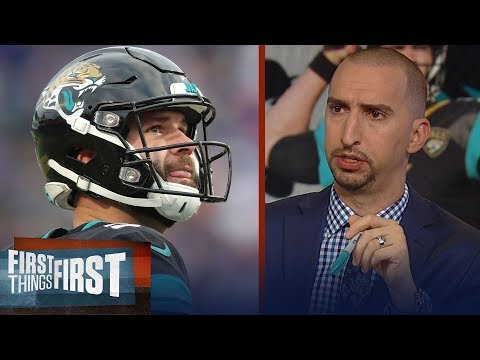 Cris Carter and Nick Wright react to the Jaguars benching Blake Bortles | NFL | FIRST THINGS FIRST