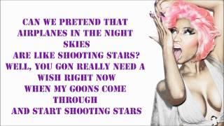 B.O.B. - Out Of My Mind (Feat. Nicki Minaj) Lyrics Video - Nicki's Verse