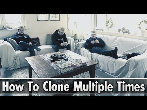 Vegas Pro 15: How To Clone Yourself Multiple Times - Tutorial #249 (видео)