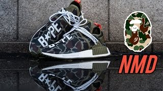 Video The Best Custom Bape Human Race NMDs - Customs with Vick MP3, 3GP, MP4, WEBM, AVI, FLV Desember 2018