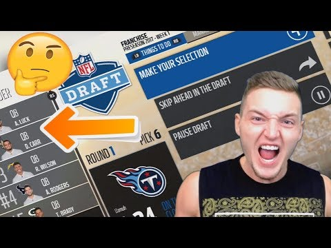 RESTARTING THE NFL WITH A FANTASY DRAFT! MADDEN 18 FRANCHISE (видео)
