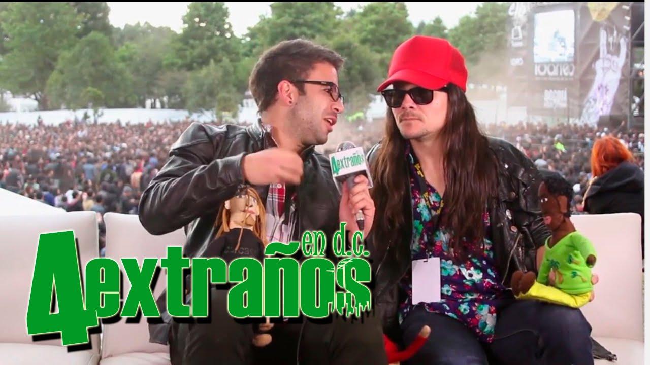 4 Extraños en D.C - Chucky García - Rock Al Parque 2014