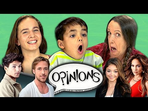 CELEBRITY CRUSH (REACT: Opinions #3)