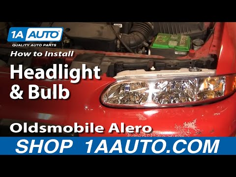 How To Install Replace Headlight and Bulb Oldsmobile Alero 99-04 1AAuto.com