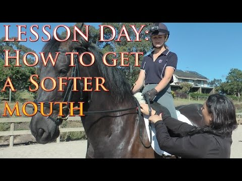 How To Get A Horse Soft In The Mouth - Dressage Mastery TV Ep41