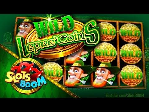 Wild Lepre' Coins Bonus !!! Extra Wilds  - 2c Aristocrat Video Slot + More...