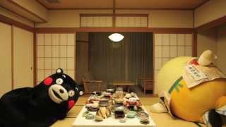 """【石川】""""くまモン""""と""""まゆまろ""""が加賀を満喫!"""