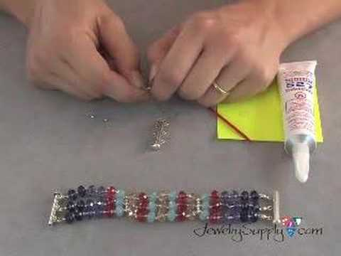 Swarovski Crystal Bracelet - How to, part I