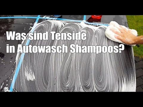Was sind Tenside in Autowasch Shampoos - Autopflege Lexikon Buchstabe T - welches Autoshampoo