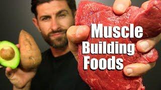 Video 10 BEST Foods To Add MUSCLE Mass FAST! MP3, 3GP, MP4, WEBM, AVI, FLV November 2018