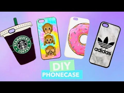 DIY Handyhüllen📱| Phone case Designs selber machen + VERLOSUNG 🎁 (NuAns & Simplism Review)