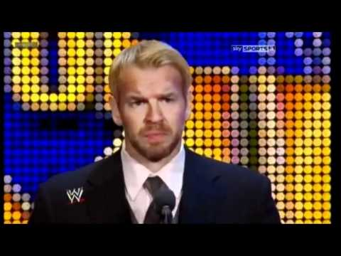 Edge gets inducted into the WWE Hall of Fame 2012 (видео)