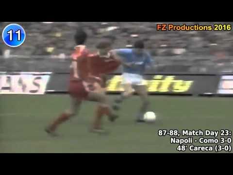 i 32 goal di antonio careca, con il napoli, stagioni 1987-88 e 1988-89!
