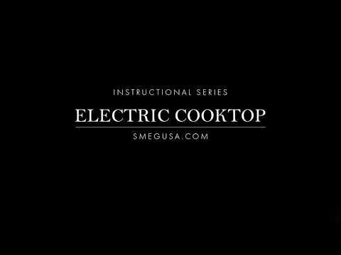 Smeg Ceramic Electric Cooktop Instructions / Tutorial