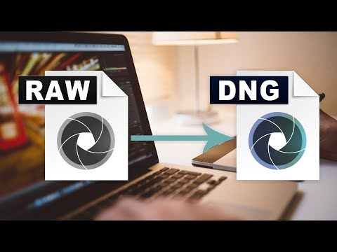 Convertir RAW en DNG en Mac OSX y Windows