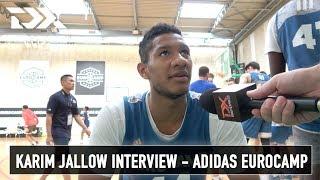 Karim Jallow Interview - Adidas Eurocamp