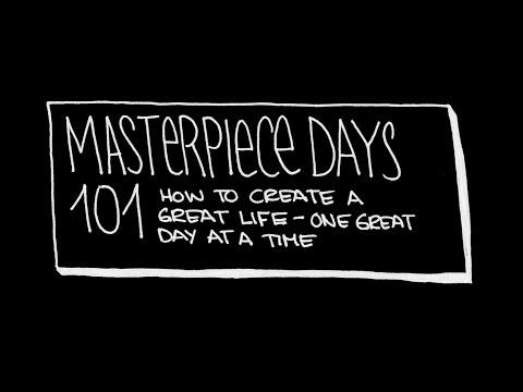 Masterpiece days 101 masterclass (intro only)