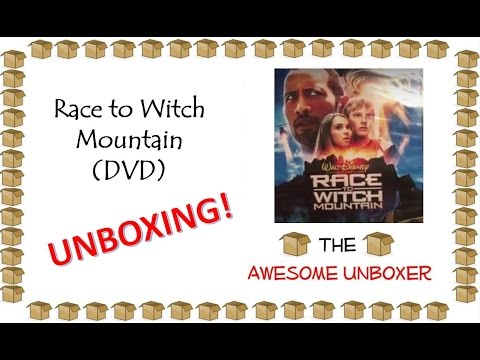 Race To Witch Mountain (DVD) Unboxing!