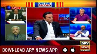 Video Off The Record -Topic:Khawaja Asif disqualified for life MP3, 3GP, MP4, WEBM, AVI, FLV Oktober 2018