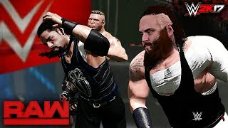 WWE 2K17 Custom Story - Braun Strowman Returns to Destroy Roman Reigns & Brock Lesnar Raw 2017This Video Tooks me lot of hard work guys! so please Watch Full Video! this is a fully entertainment video with a awesome fresh story line about Braun Strowman!Thank you so much for watching the video! If you could leave a like if you enjoyed that would be awesome, your support Motivates me ........! Also if you have not done already make sure to subscribe and turn on notifications so you never miss a video when i post! Thanks once again :)HAVE A GREAT DAY TO ALLL........... KEEP SMILINGkeep Supporting...... keep Loving.....Suggest me some cool ideas for my upcoming WWE 2K17 Videos.....in the Comment Section Below!Follow me on Twitter : https://Twitter.com/MrCreeperHDYTPlatform : XBOX ONECapture Card : Elgato HD60Game : WWE 2K17Production Music courtesy of Epidemic Sound: http://www.epidemicsound.comRoyalty Free Music by http://audiomicro.com/royalty-free-music