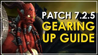 All you need to know about the new gearing methods in Patch 7.2.5, as well as updates to existing methods. ●Patreon - https://patreon.com/bellular ●Twitter -...