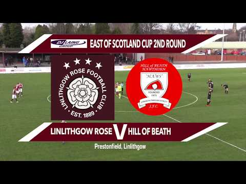 Junior Match Of The Day Linlithgow Rose Vs Hill Of Beath 07/01/18