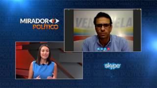Entrevista a @HCapriles - Mirador Político 25-07-2017 Seg. 02