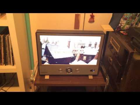 Crosley 24 inch retro LED TV 1080p
