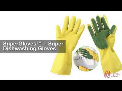 SuperGloves™ -  Super Dishwashing Gloves