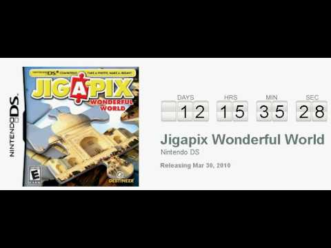 JIGAPIX Wonderful World Nintendo DS