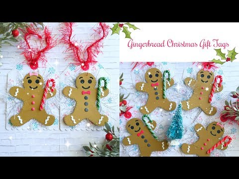 Gingerbread Christmas Gift Tags by Maria