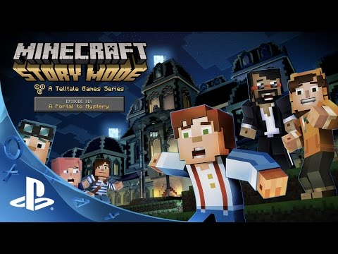minecraft story mode episode 6 a portal to mystery. Black Bedroom Furniture Sets. Home Design Ideas