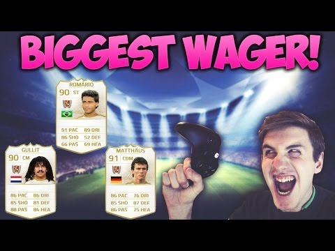 Ever - 15 Million Coins :O Can we reach 5000 Likes for another Wager? XD Cheap + Trusted FIFA 14 Coins from MMOGA http://mmo.ga/aR7I Finch's Video - https://www.youtube.com/watch?v=rCc9ri6cJmk ...
