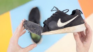 I run a year experiment on a real (€120) and fake (€8) Nike shoe to see the difference.More info: https://story-hopper.com/movie/real-vs-fakeWant to chat about this video, go and join our army: https://davehakkens.nl/communitySocial stuff:http://instagram.com/davehakkenshttp://twitter.com/davehakkenshttp://facebook.com/davehakkens