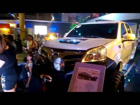 2013 Foton Thunder: Off-road setup