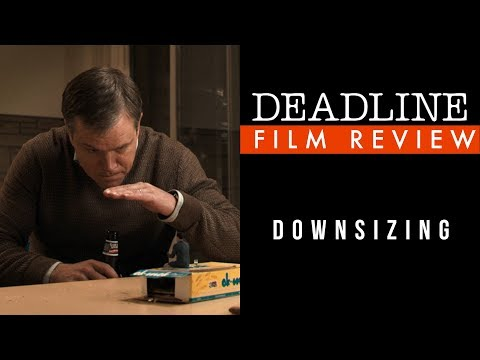 Downsizing Review - Matt Damon, Christoph Waltz