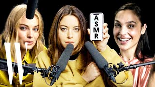 Video Best of ASMR: Margot Robbie, Gal Gadot and More Explore ASMR with Whispers and Sounds | W Magazine MP3, 3GP, MP4, WEBM, AVI, FLV Juni 2019