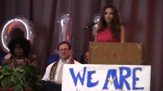 Elementary School Graduation Keynote Address