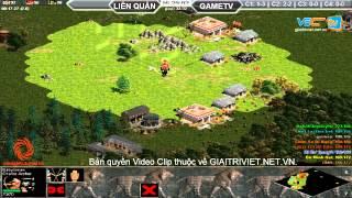 Liên Quân vs GameTV C2T5, ngày 30/08/2015, game đế chế, clip aoe, chim sẻ đi nắng, aoe 2015