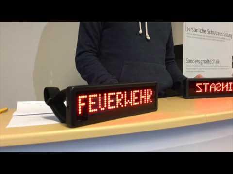 LED Einsatzschild COBRA-S by Feuerwehrstore.de