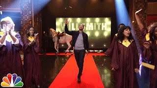 Video Will Smith's Awesome Tonight Show Entrance MP3, 3GP, MP4, WEBM, AVI, FLV April 2018