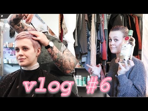 GETTING MY HAIR CUT & CLEANING MY CLOSET | VLOG 6 | PIXIE CHICK