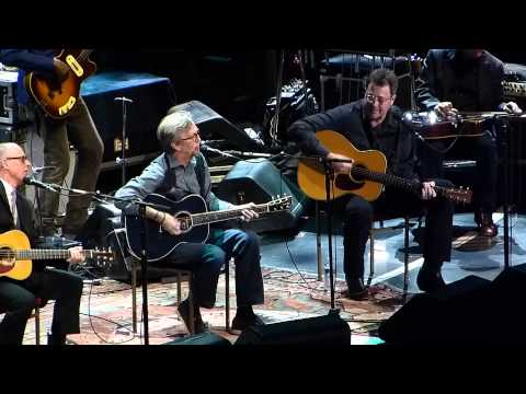 Lay Down Sally Eric Clapton & @ Crossroads 2013 @ MSG