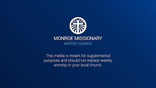 May 16th 2021 Morning Service – Ephesians 2:11-13