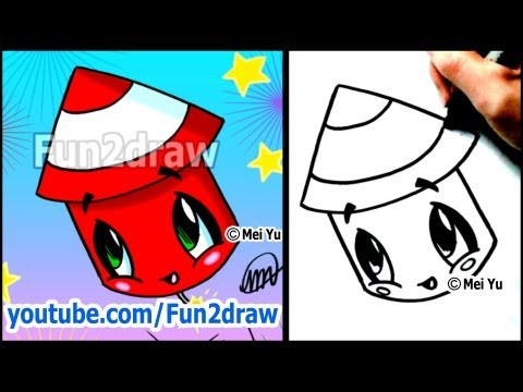 Fun2draw fire works fun2draw stars by the funny drawers for Draw funny things