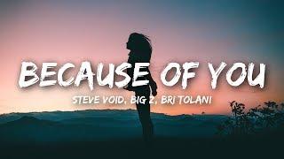 Video Steve Void & Big Z - Because Of You (Lyrics / Lyrics Video) ft. Bri Tolani MP3, 3GP, MP4, WEBM, AVI, FLV Mei 2018