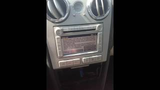 How to remove a radio on a lincoln mkz zephyr