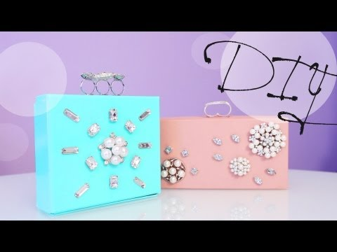 Mothers Day gifts - So many designers and brands are doing the box clutch thing. So here is your chance to make your own on your own budget. Designers like Jason Wu & Sophia Web...
