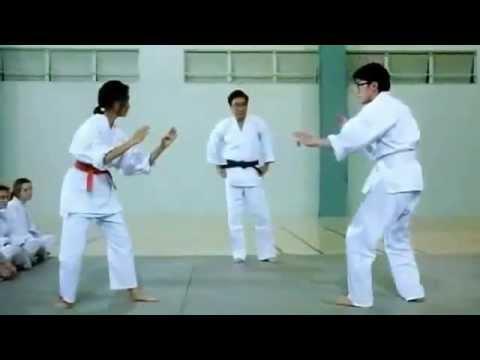 Trận đấu Karate hài hước nhất quả đất