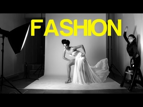 High Fashion Photoshoot TUTORIAL
